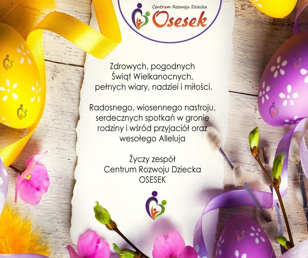 Życzenia Wielkanocne CRD Osesek