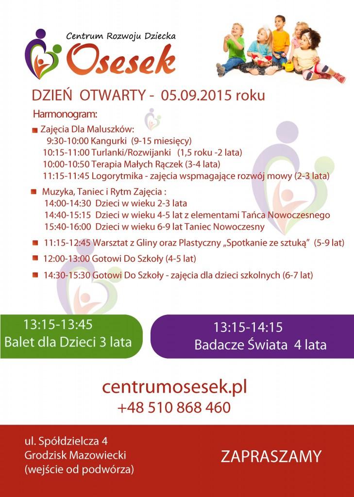 Ulotka - dzien otwarty 09 2015